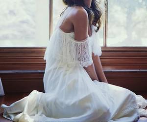boho, dress, and style image