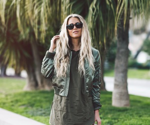 beige, green, and palmtree image