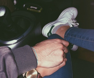 adidas, car, and couple image
