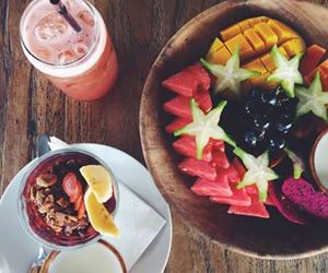 cool, food, and FRUiTS image