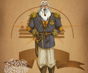 disney, steampunk, and king triton image