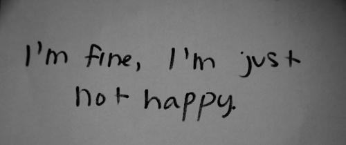 I am not happy tumblr ile ilgili görsel sonucu