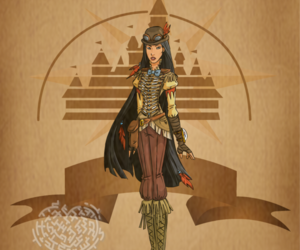 disney, pocahontas, and steampunk image