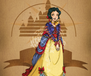 disney, snow white, and steampunk image