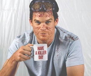Dexter, blood, and killer image