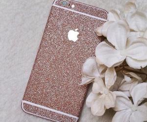 iphone, fashion, and glitter image