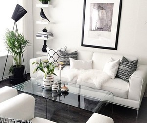living room, home, and room image