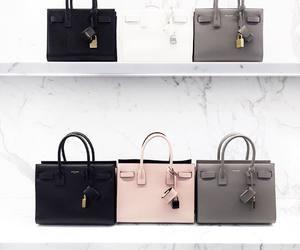 fashion, bag, and white image