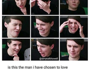 internet, dan howell, and youtuber image