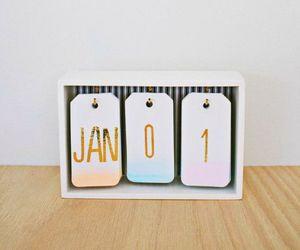 diy, calendario, and decora image