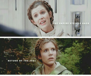 Princess Leia and star wars image