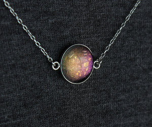 etsy, galaxy, and cute necklace image