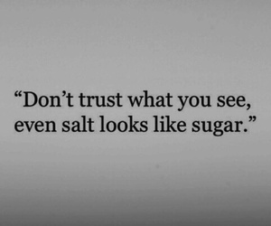quotes, trust, and sugar image