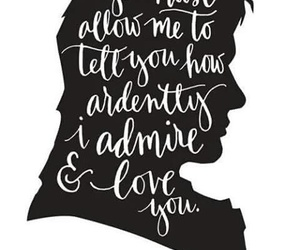 jane austen, quote, and mr darcy image