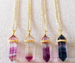 necklace, accessories, and quartz image