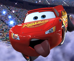 car, disney, and funny image