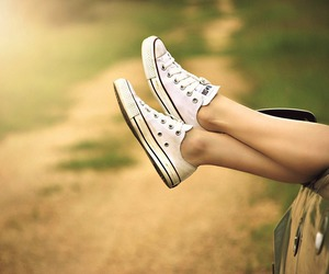 converse, shoes, and car image