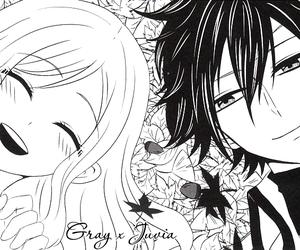 fairy tail, gruvia, and anime image