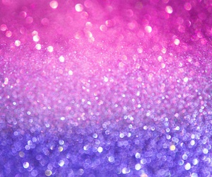 glitter, pink, and gold image