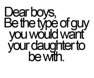 boy, quotes, and daughter image