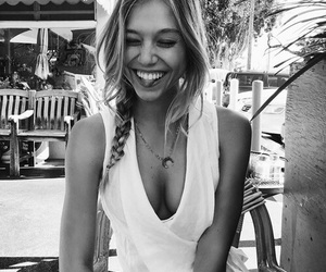 girl, alexis ren, and smile image