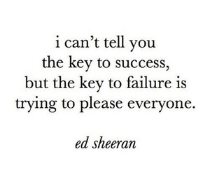 ed sheeran, failure, and quote image