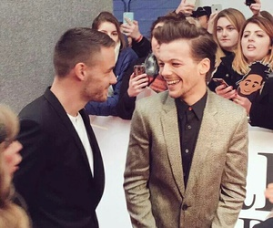 liam payne, louis tomlinson, and one direction image