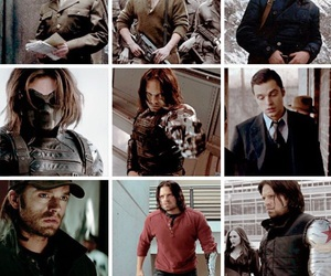 Marvel, sebastian stan, and winter soldier image