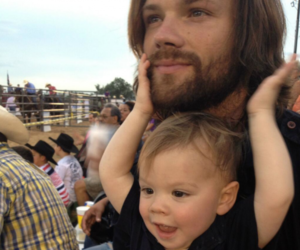 jared padalecki, supernatural, and baby image