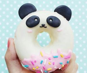 donuts, panda, and food image