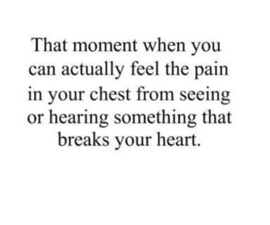 hearing, heart broken, and that moment image