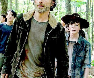 rick grimes, the walking dead, and twd image