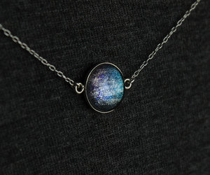 blue, etsy, and galaxy image