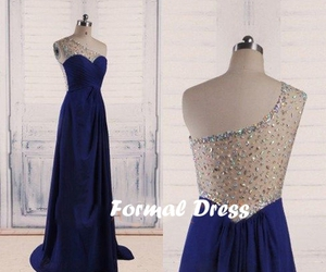 dresses, evening dress, and Prom image