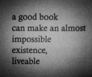 quote, book, and liveable image