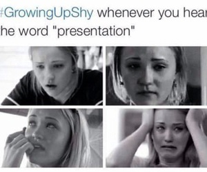 true, shy, and presentation image