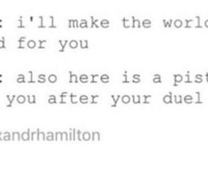 hamilton, musical, and alexander hamilton image