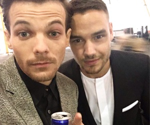 one direction, louis tomlinson, and liam payne image