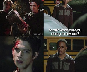 Mason, teen wolf, and tyler posey image