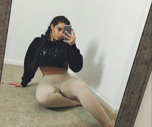 fit, kylie jenner, and instagram image