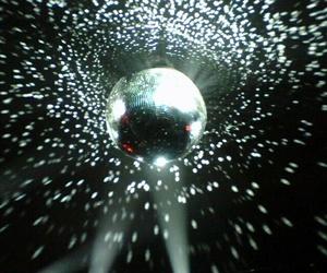 disco, mirror ball, and sparkle image