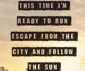 one direction, ready to run, and Lyrics image