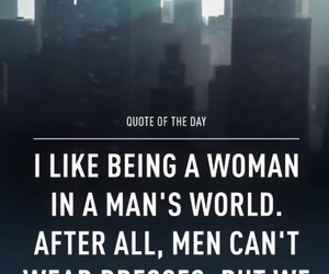 quote, woman, and dress image