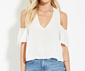 forever 21, tops, and Summer Clothing image