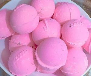 pink, lush, and bath image