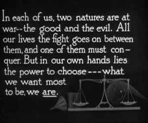 good vs evil, dr jekyll, and hyde image