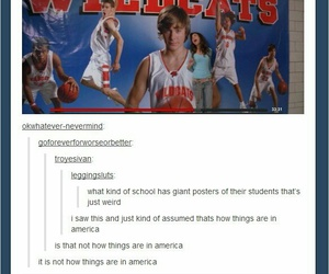 america, high, and tv image