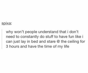 introvert, funny, and tumblr image