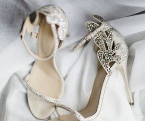 shoes, wedding, and fashion image