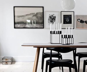 black, home, and inspiration image